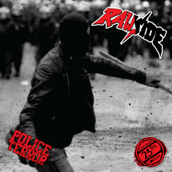 "Rawside ""Police Terror"" LP (red)"
