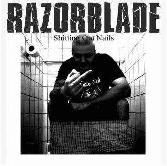 "Razorblade - Shitting Out Nails EP 7"" (black)"
