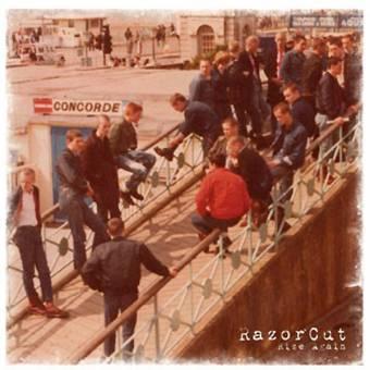 """Razorcut """"Rise again"""" LP (lim. 450, bone)"""