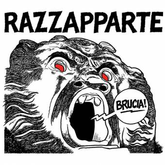 """Razzapparte """"Brucia"""" CD (DigiPac)"""