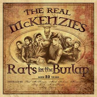 "Real McKenzies ""Rats In The Burlap"" LP"