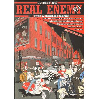 Real Enemy #14 (SK) Fanzine (slov./engl.)