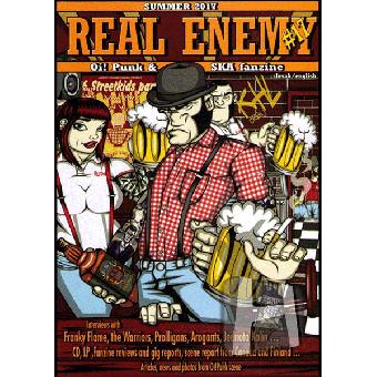 Real Enemy #17 (Summer 2017) (SK) Fanzine (slov./engl.)