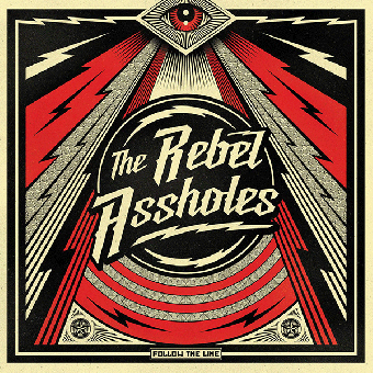"Rebel Assholes, The ""Follow the time"" LP (lim. 500, black)"