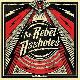 "Rebel Assholes, The ""Follow the time"" LP (lim. 500, black)"