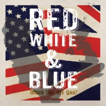 """split """"Red, White & Blue"""" DoEP 7"""" (beer, lim. 500)"""