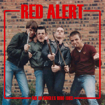 """Red Alert """"The Oi! Singles 1980/83"""" LP+A2 Poster (lim. 900, black)"""