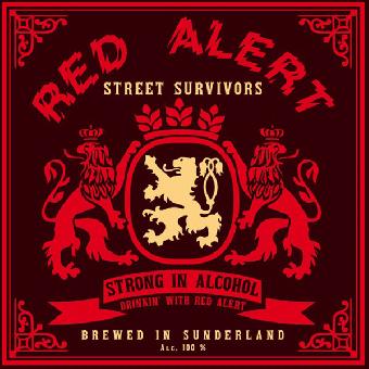 "Red Alert ""Street Survivors"" LP (lim. 500, black)"
