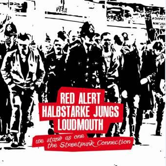 "split Red Alert / Halbstarke Jungs / Loudmouth 10"" (Cover 3, lim. 100)"
