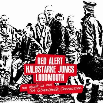 "split Red Alert / Halbstarke Jungs / Loudmouth 10"" (Cover 5, lim. 100)"