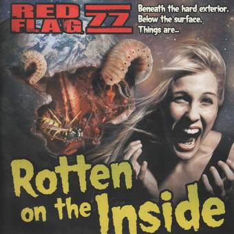 """Red Flag 77 """"Rotten on the inside"""" LP (lim. red)"""