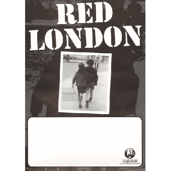 Red London Poster (gefaltet)