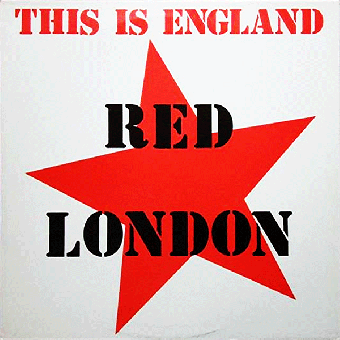 "Red London ""This is England"" LP (lim. 500, black)"