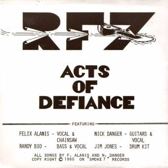 "RF7 ""Act of Defiance"" EP 7"""