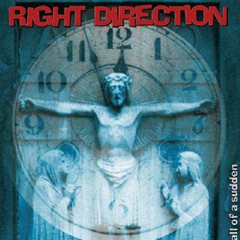 "Right Direction ""All of a sudden"" LP (lim. 200, black)"