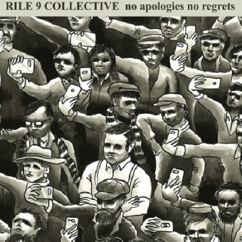 "Rile 9 Collective ""No apologies no regrets"" EP 7"" (lim. 300, blue)"