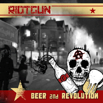 "Riotgun ""Beer & Revolution"" LP (lim. 400, orange splatter)"