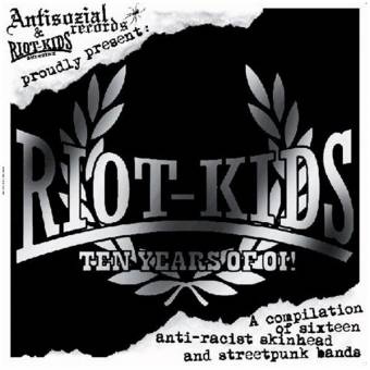 V/A Riot Kids - Ten Years of Oi! CD