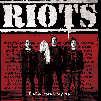 "Riots ""It will never change"" CD"
