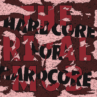 "Rival Mob ""Hardcore For Hardcore"" 12"" MLP (remastered, lim. 1300 black)"