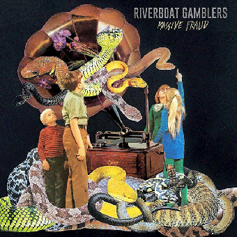 "Riverboat Gamblers ""Massive Fraud"" EP 7"" (lim. 500, yellow) + MP3"