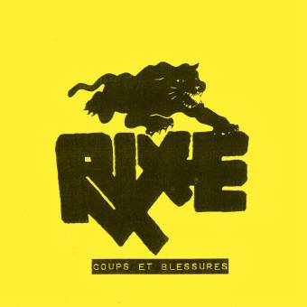 "Rixe ""Coups Et Blessures"" EP 7"" (black)"