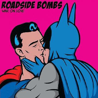 "Roadside Bombs ""War on love"" EP 7"" (lim. 250, cyan)"