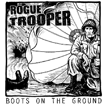 "Rogue Trooper ""Boots On The Ground"" EP 7"" (lim. 300, black)"
