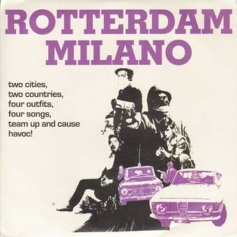 "V/A Rotterdam Milano EP 7"" (Stealers, Brutti E Ignoranti, ...) (lim. 96, red)"