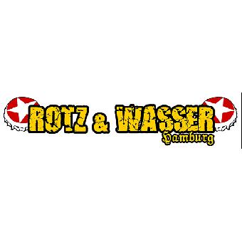 "Rotz & Wasser ""Logo"" PVC Aufkleber"