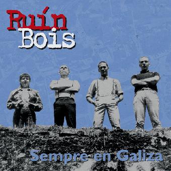"""Ruin Bois """"Sempre en Galiza"""" LP /gatefold + A2 Poster) (lim. 520, black)"""