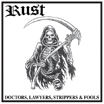 """Rust """"Doctors, Lawyers, Strippers & Fools"""" LP (lim. 200, red)"""