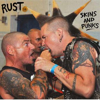 "Rust ""Skins and Punks"" EP 7"" (black)"