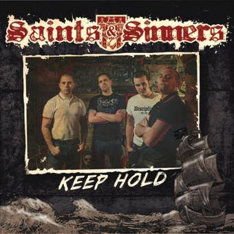 "3 x Saints & Sinners ""Keep hold"" EP 7"" black + clear + beer"