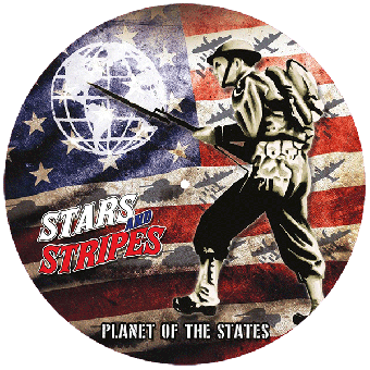 """Stars And Stripes """"Planet of the states"""" PicLP (incl. Poster + Patch) (lim. 500)"""