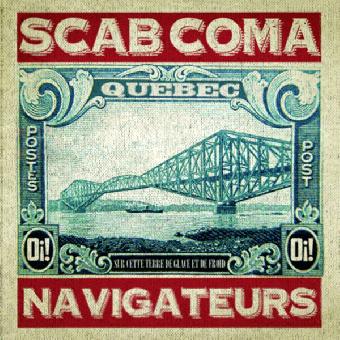 """Scab Coma """"Navigateurs"""" 7"""" EP (lim. 200, splatter red)"""