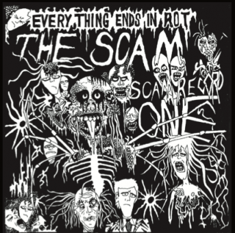 """Scam, The """"Everithing ends in Rot"""" EP 7"""" (black)"""