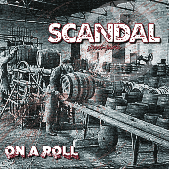 """Scandal """"On a roll"""" LP (yellow Vinyl, lim. 100, incl. DL Code)"""