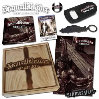 """KrawallBrüder """"schmerzfrei"""" CD+DVD (lim. Holzbox)"""
