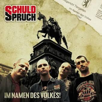 """SchuldSpruch """"Im Namen des Volkes"""" LP+CD (lim. 86, antique pink marbled)"""