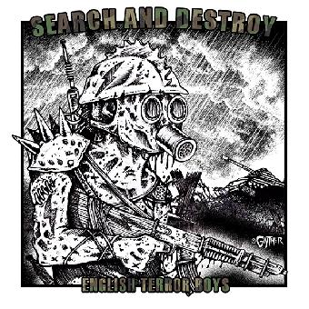 "Search And Destroy ""English Terror Boys"" EP 7"" (lim. 366, black)"