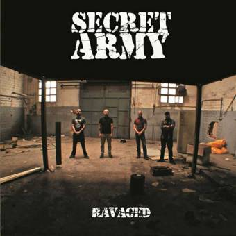 "Secret Army ""Ravaged"" LP (lim. 200, oxblood)"