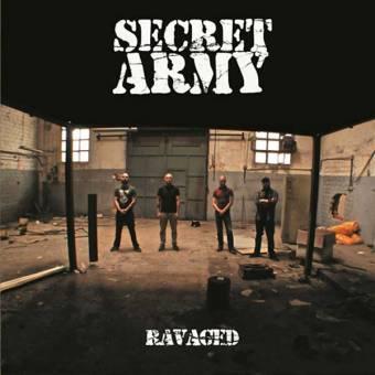 "Secret Army ""Ravaged"" LP (lim. 200, splatter)"