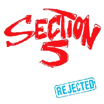 "Section 5 ""Rejected"" LP (lim.150, red-white-blue)"