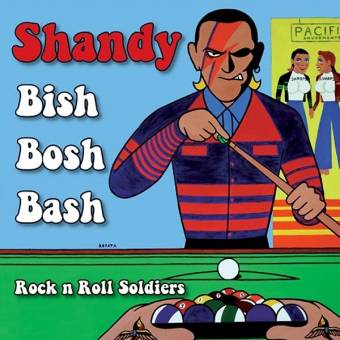 "Shandy ""Bish Bosh Bash"" EP 7"" (lim. 300, red)"
