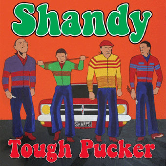 "Shandy ""Tough Pucker"" LP (2nd press, red)"
