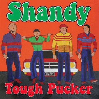 """Shandy """"Tough Pucker"""" LP (2nd press, red)"""