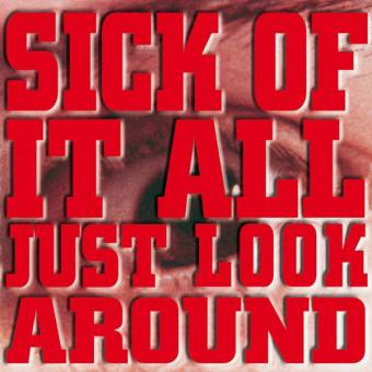 "Sick of it all ""Just look around"" LP (lim. 250, red)"