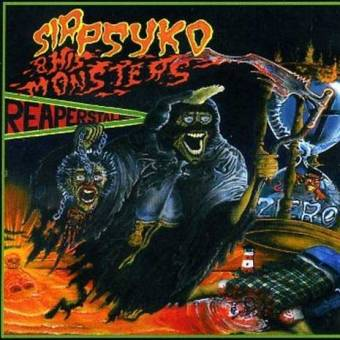 "Sir Psyko and his monsters ""Reapers Tale"" LP (black)"