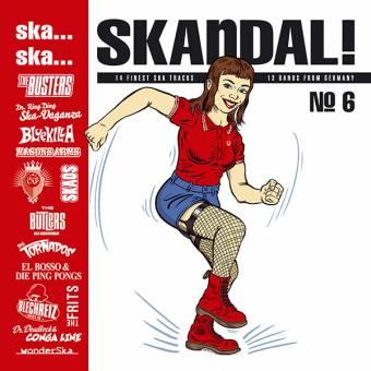 V/A SKA..SKA.. SKANDAL No. 6 LP (140 gr., MP3)